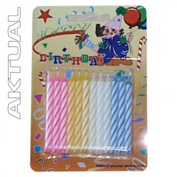 Svíčka dortové x24 (24122)