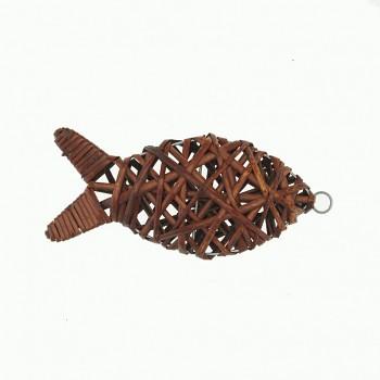 Ryba 20x8,5cm brown