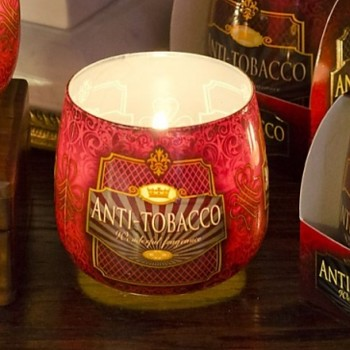 Svíčka sklo ANTI-TOBACCO parfém