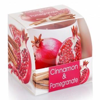 Svíčka sklo CINNAMON parfém
