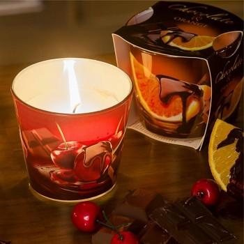 Svíčka sklo CHOCOLATE parfém