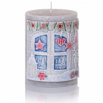 *Svíčka CHARMING CHRISTMAS válec 70x90