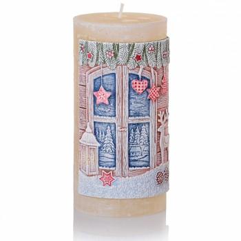 *Svíčka CHARMING CHRISTMAS válec 70x140