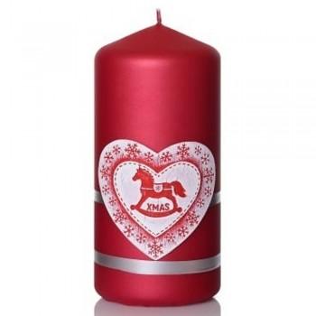 *Svíčka MERRY CHRISTMAS válec 70x150