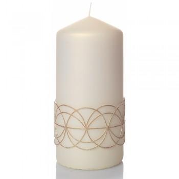 *Svíčka GLAMOUR válec 80x150