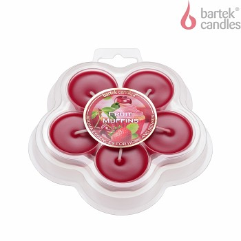 "*Svíčka TEA LIGHT""5""FRUIT MUFFINS parfém"