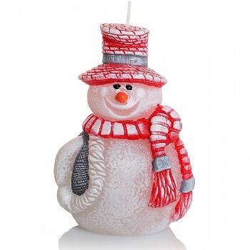 *Svíčka Figurka vánoční SNĚHULÁK 125