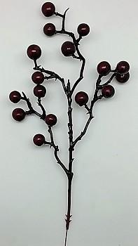 Větev Jeřabina x16 - 48ks dark red