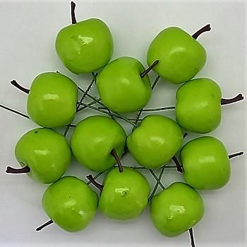 Jablíčka 3,5x4,5cm zápich - 12 ks