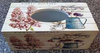 Box na ubrousky 24x12x9,5cm