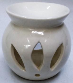 Aromalampa - 8 cm bílá