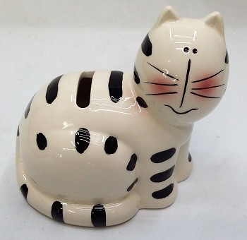Kasička kočka 11 x 11 cm