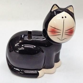Kasička kočka 13 x 13 cm