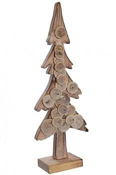 Stromek dřevěný 35cm NATURAL