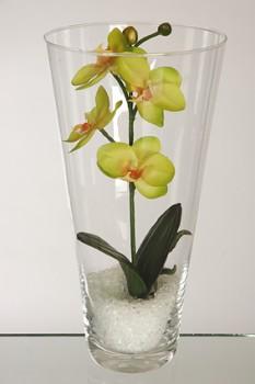 Váza s orchidejí 28cm