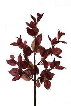 Listy podzim 40cm x5 BURGUNDY
