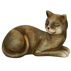 Kočka keramika GREY