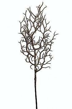 Větvička zasněžená  30cm WHITE