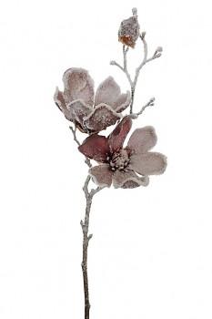 Magnolie zasněžená 50cm x3 MAUVE